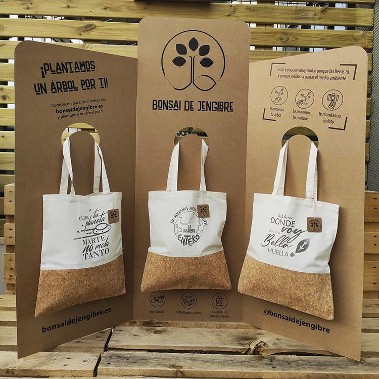 Packaging responsable Bonsai de Jengibre