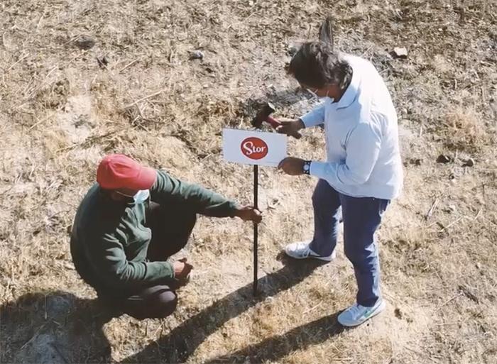 colaboración activa con proyectos medioambientales